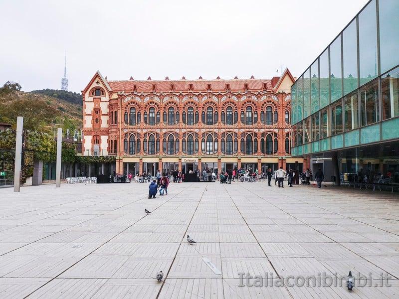 CosmoCaixa museo della scienza di Barcellona - esterni
