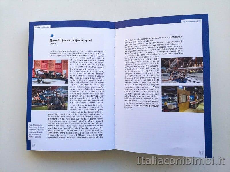 Guida ai luoghi geniali - Museo Caproni di Trento