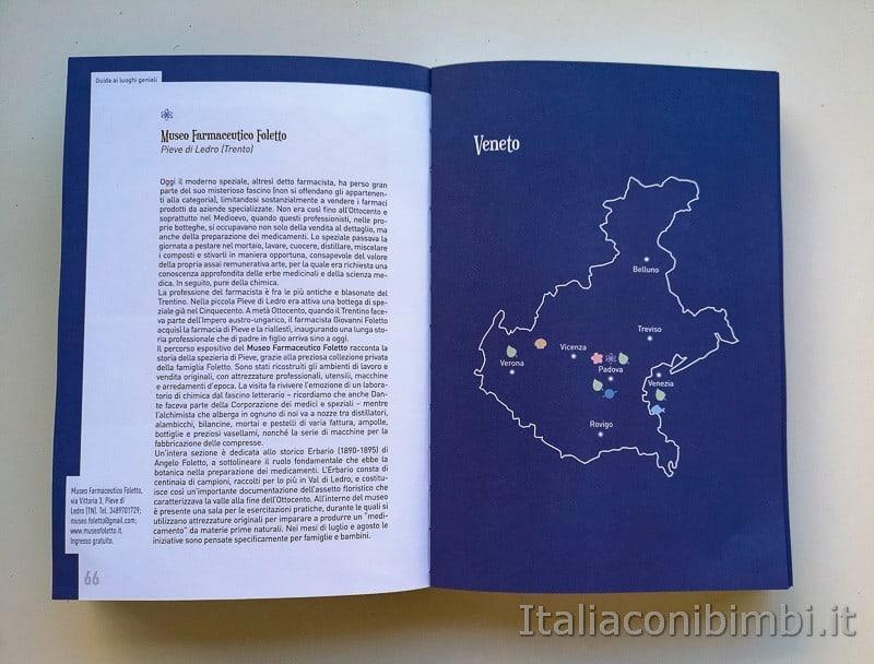 Guida ai luoghi geniali - mappa del Veneto
