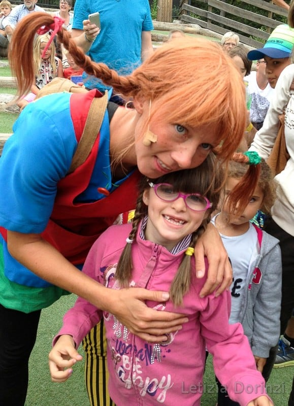 Parco di Pippi Calzelunghe - Pippi e i bambini