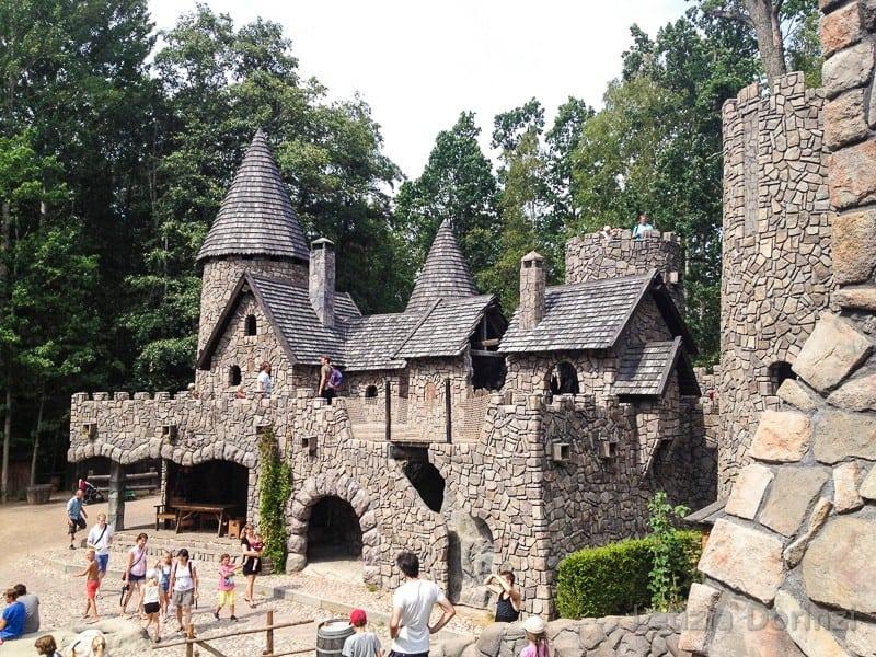 Parco di Pippi Calzelunghe - castello del gigante