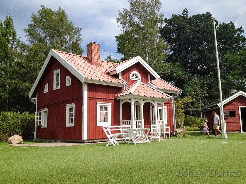 Parco di Pippi Calzelunghe - la casa degli Svensson ed Emil