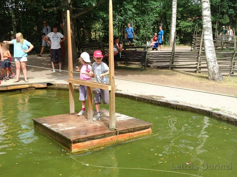 Parco di Pippi Calzelunghe - zattere