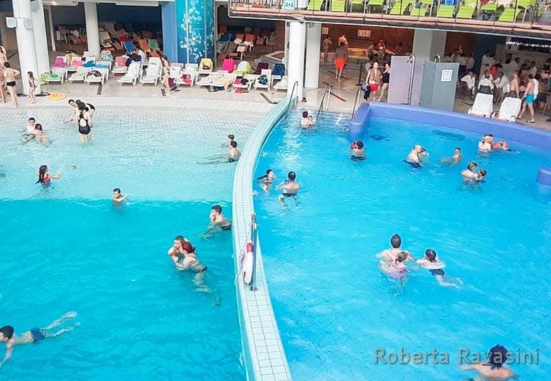 Terme di Lasko Slovenia -piscine interne.