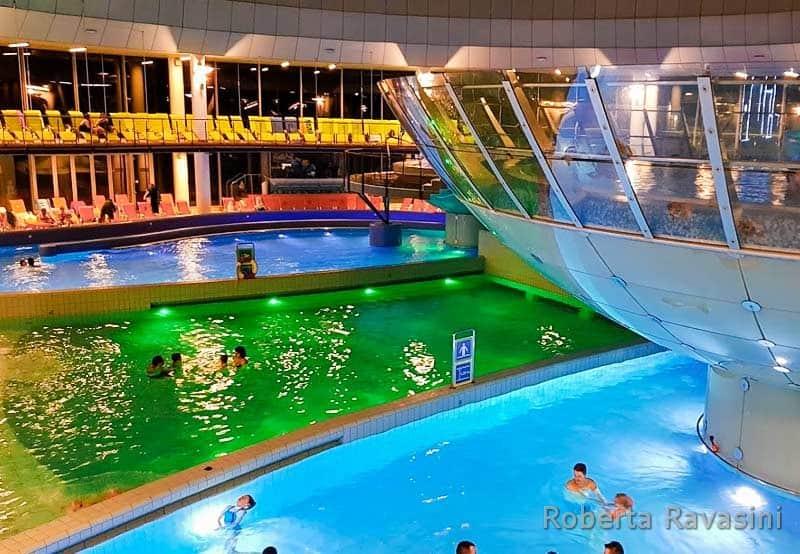 Terme di Lasko - piscine interne