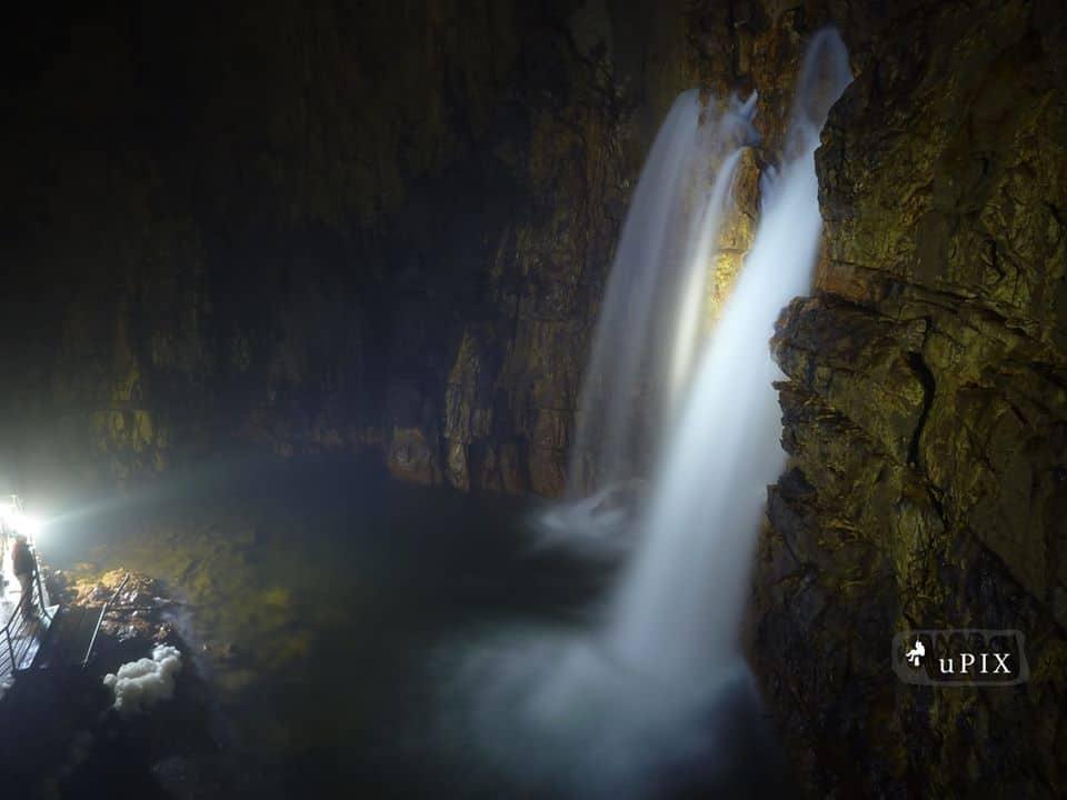 cascata alle Grotte di Stiffe