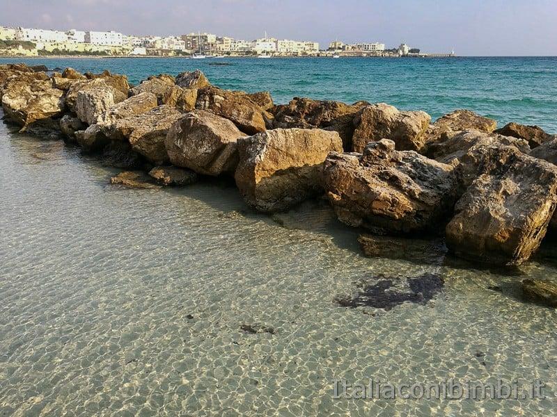 Otranto - acqua trasparente