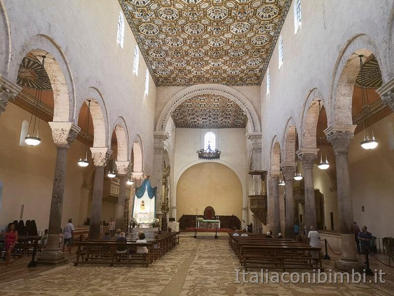 Otranto - interno della Cattedrale