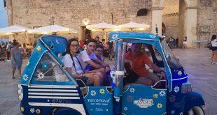 Otranto - noi sull'ape calessino
