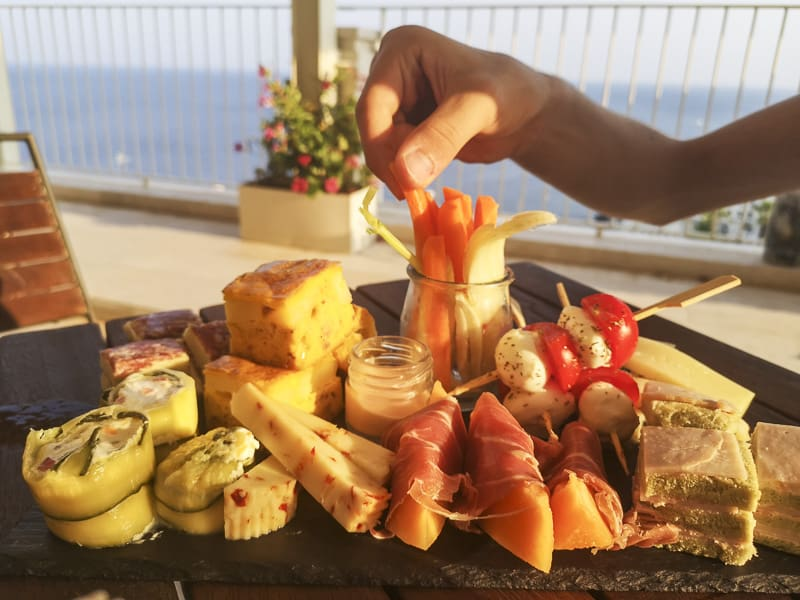Santa Cesarea Terme - Hotel Est aperitivo in terrazza