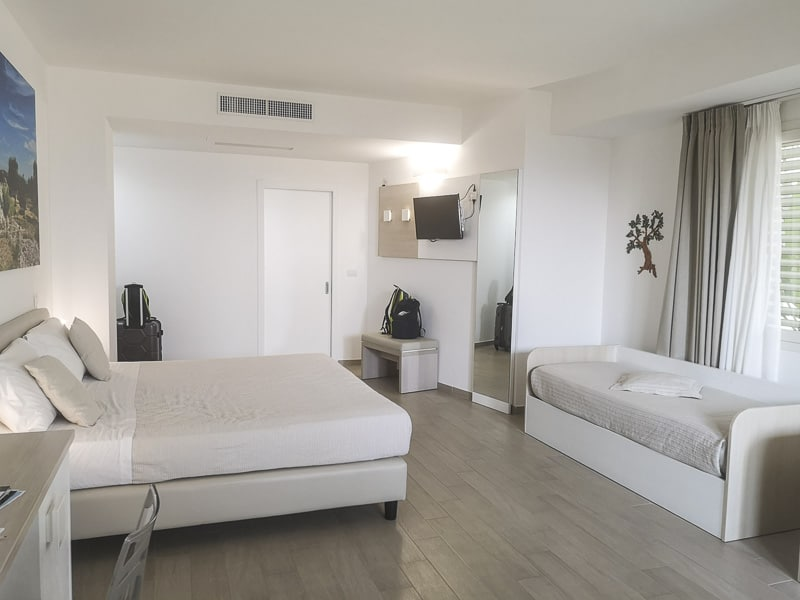 Santa Cesarea Terme - Hotel Est camera quadrupla