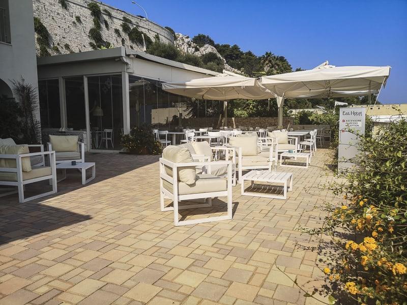 Santa Cesarea Terme - Hotel Est sala colazione