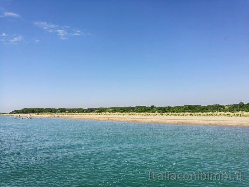 Bibione - dune nella zona del faro