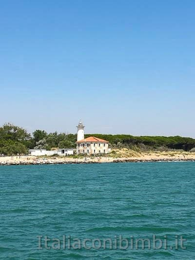 Bibione - faro visto dal mare