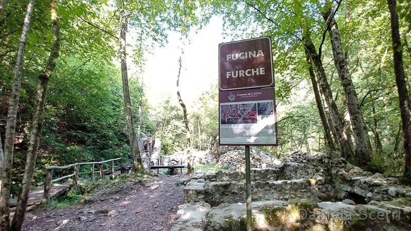 Parco Fucine Casto- sentieri