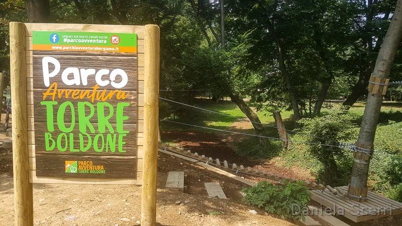 Parco avventura- Torre Boldone