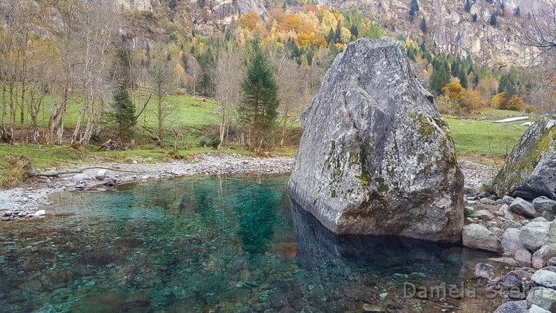 Val di Mello - ruscelli smeraldo