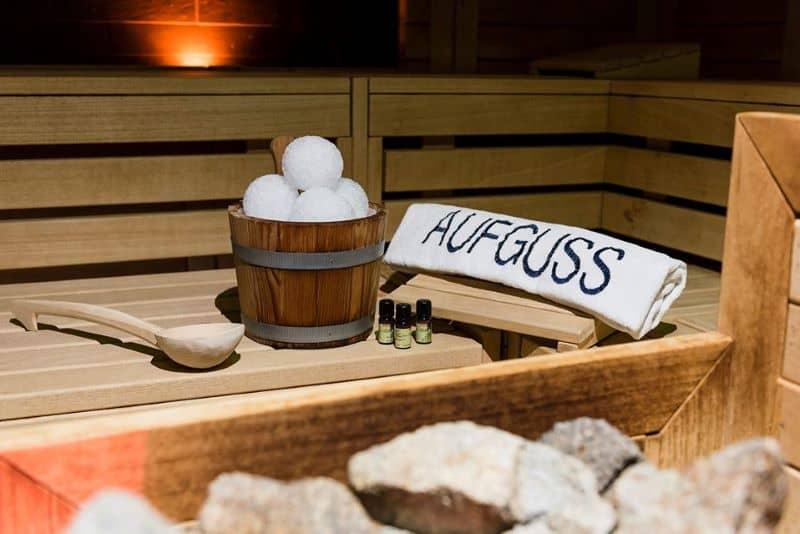 sauna Augfuss alle Terme di Bibione