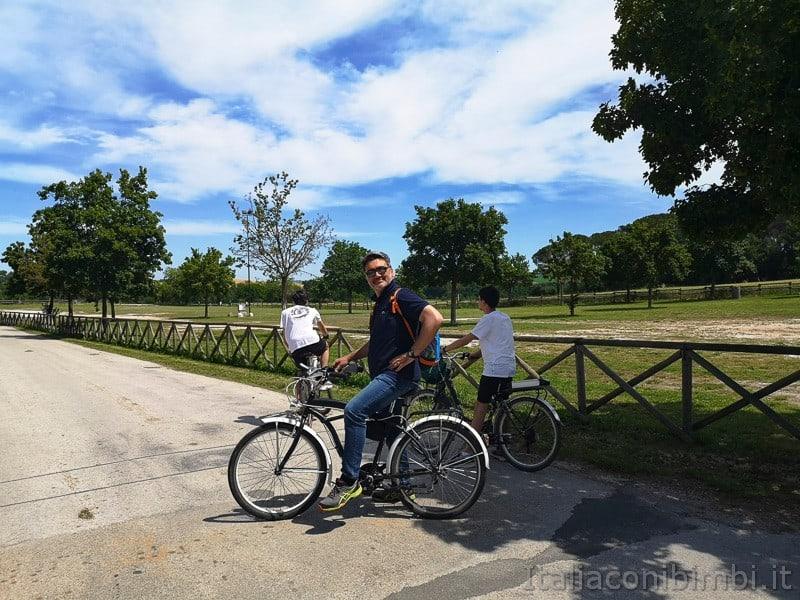 Abbadia di Fiastra- noi in bicicletta