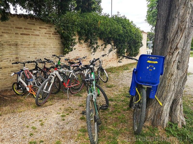 Abbadia di Fiastra- noleggio biciclette