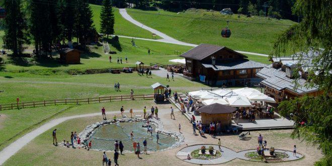 Alleghe - Ally Farm laghetto e percorso sensoriale