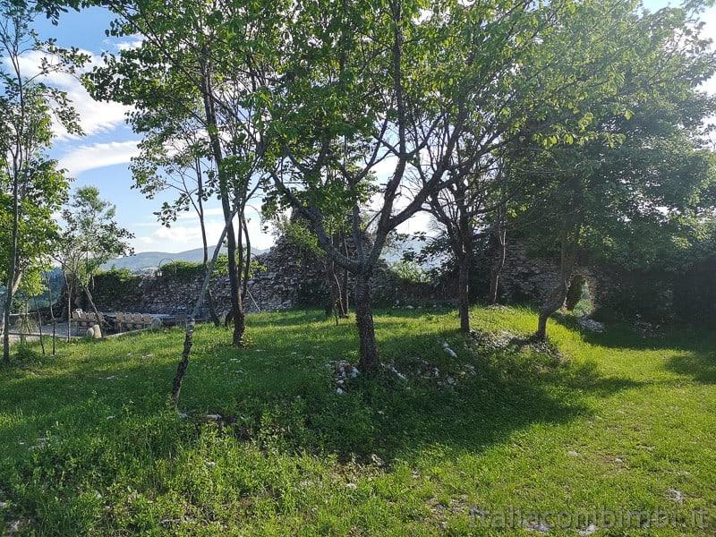 Lago di Cingoli- castello di Castreccioni