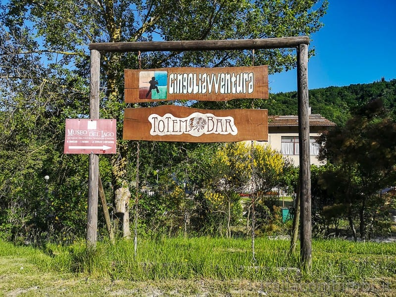Lago di Cingoli- parco avventura