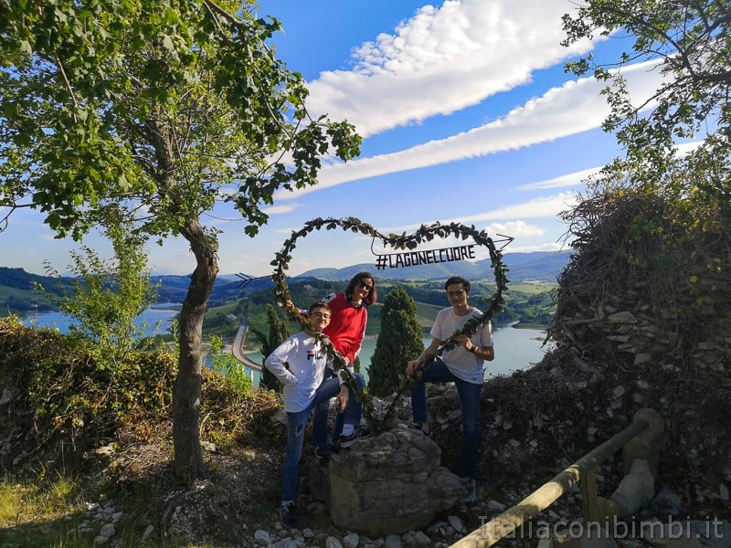 Lago di Cingoli- punto panoramico