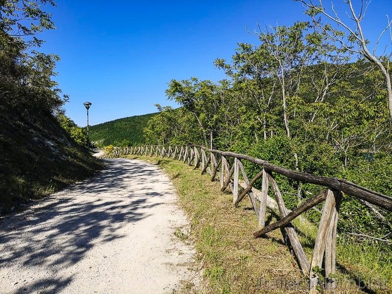 Lago di Cingoli- sentiero natura