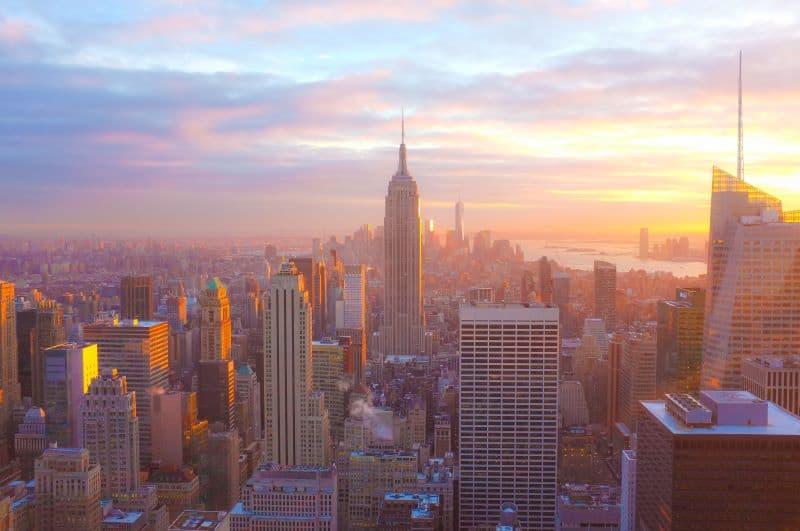 New York vista sulla città