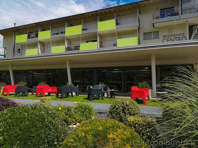 Residence Centro Vela di Riva del Garda- facciata esterna