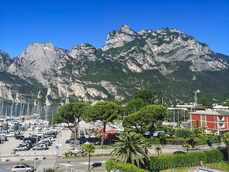 Residence Centro Vela di Riva del Garda- vista panoramica