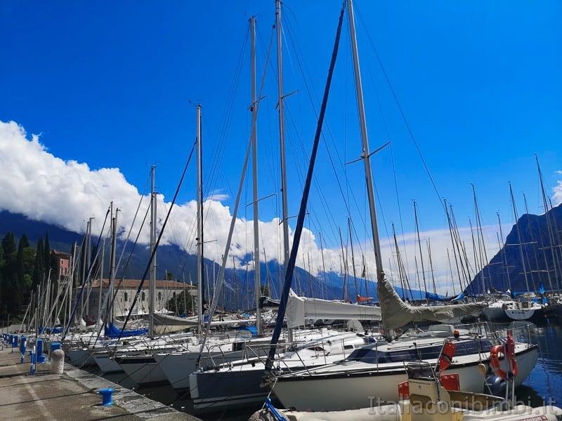 Riva del Garda- porticciolo turistico