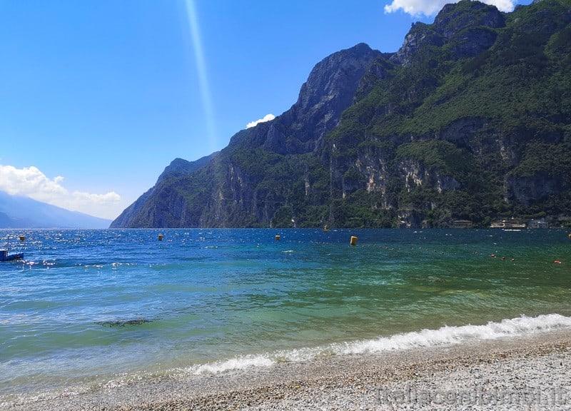 Riva del Garda- spiaggia