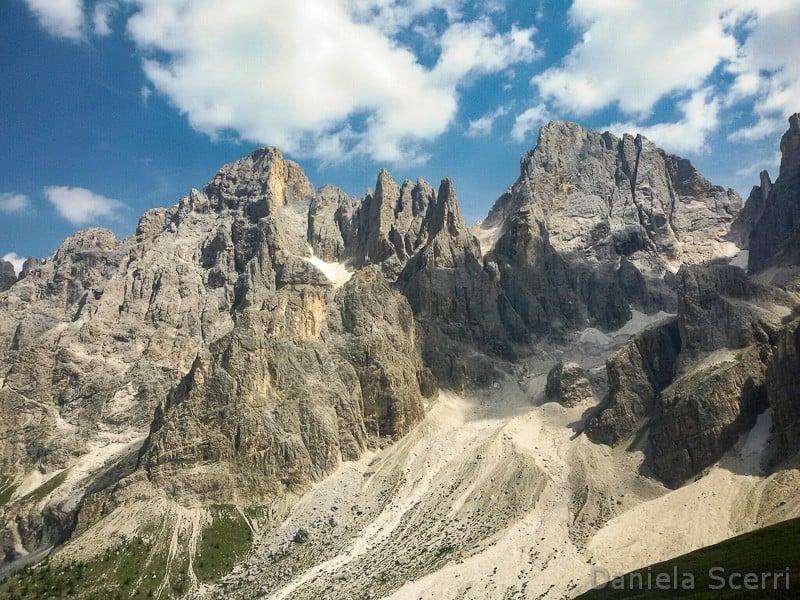 Trentino in camper- Pale San Martino da Baita Segantini