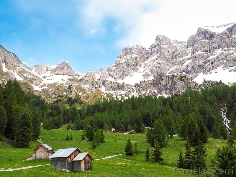 Trentino in camper- Valle San Nicolò in Val di Fassa