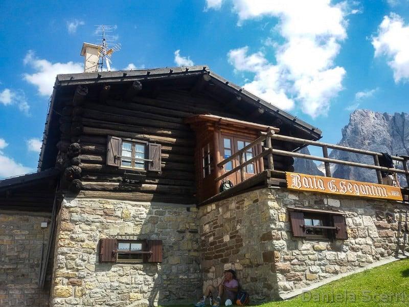 Trentino in camper con bambini- Baita Segantini
