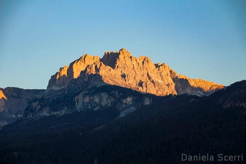 Trentino in camper con bambini- Enrosadira