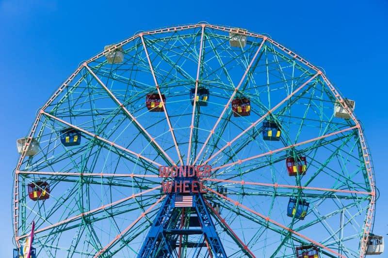 luna park di Coney Island