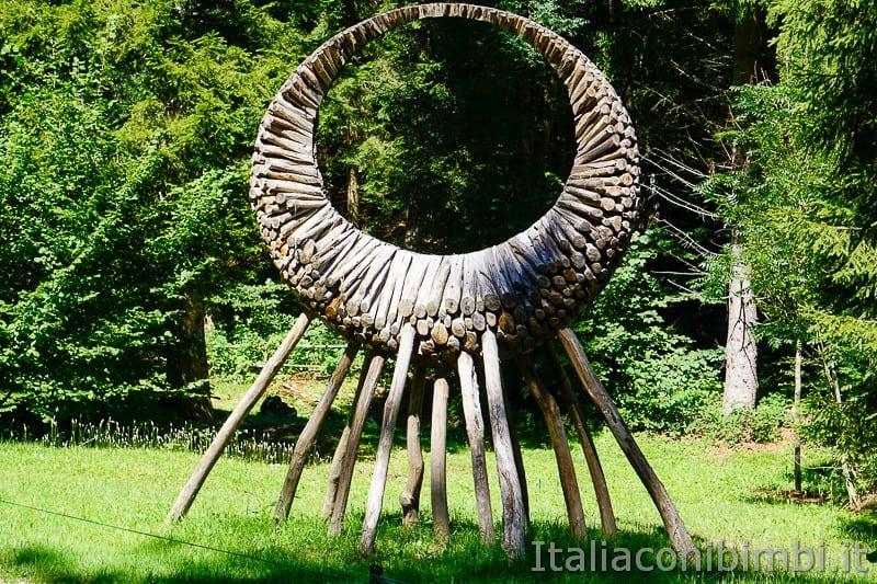 Arte Sella Valsugana- opera solstizio