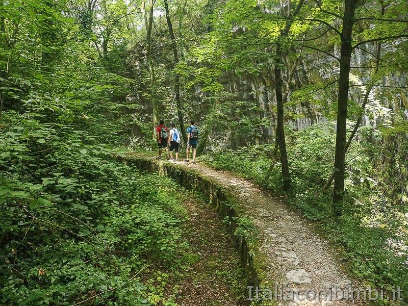 Caramanico Valle dell'Orfento- noi in escursione