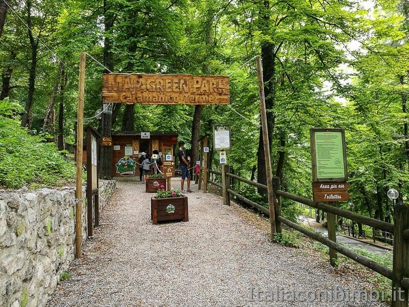 Caramanico-parco-avventura-Majagreen-ingresso