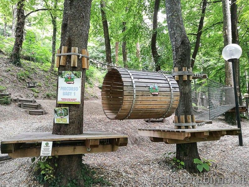 Caramanico-percorso-del-parco-avventura-Maja-Green