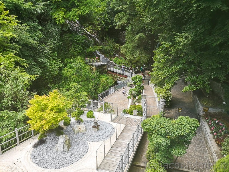 Cascata del Varone- ingresso del parco