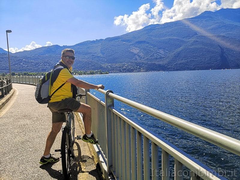 Ciclabile Riva - Torbole- Paolo sul lago