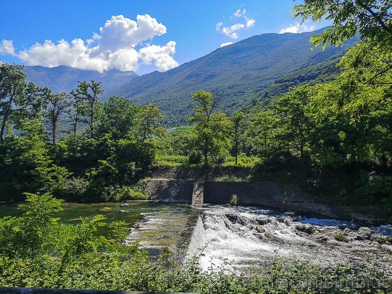 Ciclabile Torbole - Arco- fiume Sarca e cascate