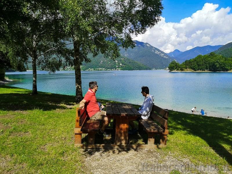 Lago di Ledro- area pic nic Molina