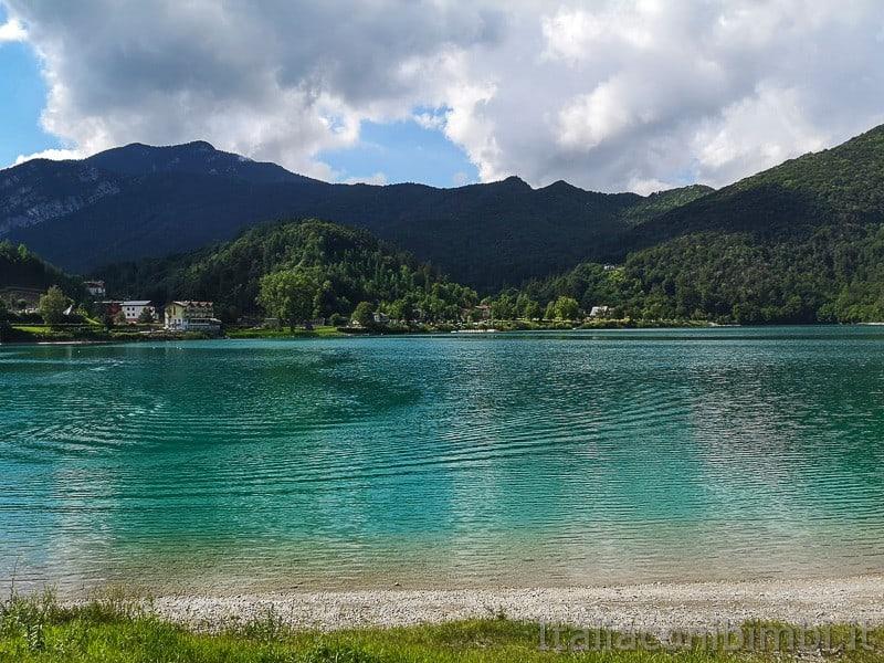 Lago di Ledro- dal camping Al Sole