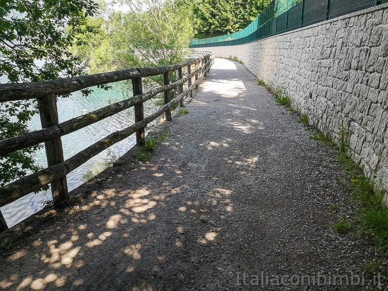 Lago di Ledro- passeggiata del giro del lago