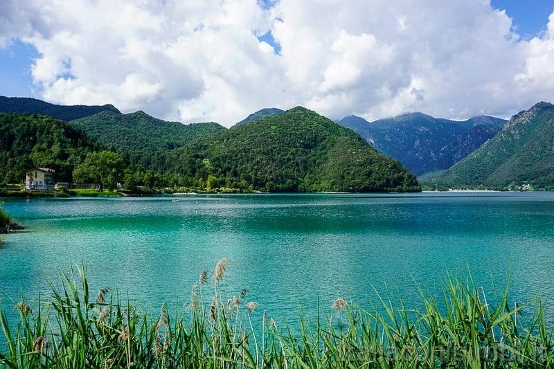 Lago di Ledro- visto dal campeggio Al Sole